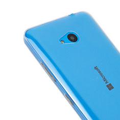 Etui Ultra Slim Silicone Souple Transparente pour Microsoft Lumia 640 Clair