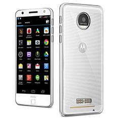 Etui Ultra Slim Silicone Souple Transparente pour Motorola Moto Z Clair