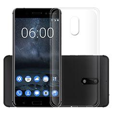 Etui Ultra Slim Silicone Souple Transparente pour Nokia 6 Clair