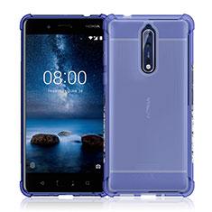Etui Ultra Slim Silicone Souple Transparente pour Nokia 8 Clair