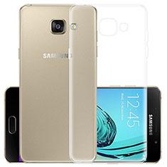 Etui Ultra Slim Silicone Souple Transparente pour Samsung Galaxy A3 (2017) SM-A320F Clair