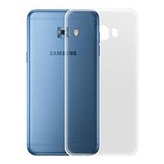 Etui Ultra Slim Silicone Souple Transparente pour Samsung Galaxy C7 Pro C7010 Clair