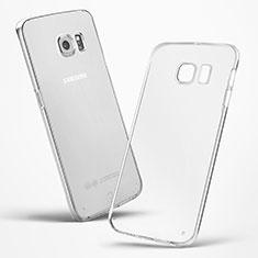 Etui Ultra Slim Silicone Souple Transparente pour Samsung Galaxy S6 Edge SM-G925 Clair