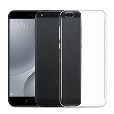 Etui Ultra Slim Silicone Souple Transparente pour Xiaomi Mi 5C Clair