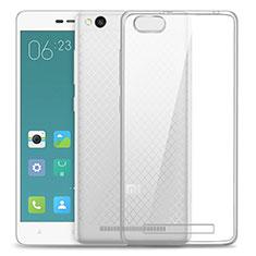Etui Ultra Slim Silicone Souple Transparente pour Xiaomi Redmi 3 Clair