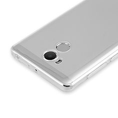 Etui Ultra Slim Silicone Souple Transparente pour Xiaomi Redmi 4 Prime High Edition Clair
