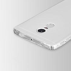 Etui Ultra Slim Silicone Souple Transparente pour Xiaomi Redmi Note 4X High Edition Clair