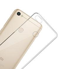 Etui Ultra Slim Silicone Souple Transparente pour Xiaomi Redmi Note 5A High Edition Clair