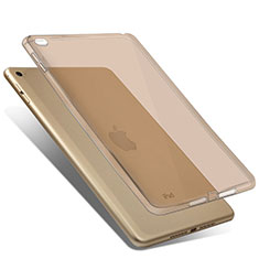 Etui Ultra Slim TPU Souple Transparente pour Apple iPad Mini 4 Or