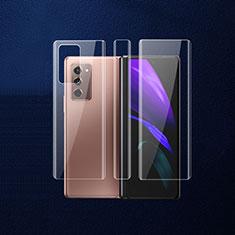 Film Protecteur Arriere B01 pour Samsung Galaxy Z Fold2 5G Clair