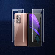 Film Protecteur Arriere B02 pour Samsung Galaxy Z Fold2 5G Clair