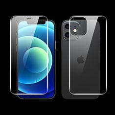 Film Protecteur d'Ecran Avant et Arriere F01 pour Apple iPhone 12 Mini Clair