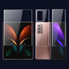 Film Protecteur d'Ecran Avant et Arriere F01 pour Samsung Galaxy Z Fold2 5G Clair