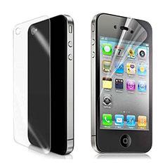 Film Protecteur d'Ecran Avant et Arriere pour Apple iPhone 4 Clair