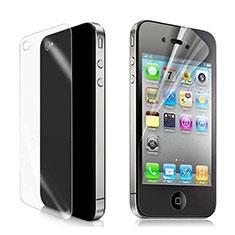 Film Protecteur d'Ecran Avant et Arriere pour Apple iPhone 4S Clair