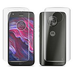 Film Protecteur d'Ecran Avant et Arriere pour Motorola Moto X4 Clair