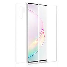Film Protecteur d'Ecran Avant et Arriere pour Samsung Galaxy Note 10 Plus Clair