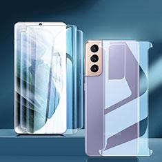Film Protecteur d'Ecran Avant et Arriere pour Samsung Galaxy S21 5G Clair