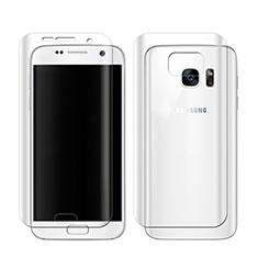 Film Protecteur d'Ecran Avant et Arriere pour Samsung Galaxy S7 G930F G930FD Clair