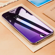 Film Protecteur d'Ecran Verre Trempe Anti-Lumiere Bleue B01 pour Apple iPhone 6 Plus Bleu
