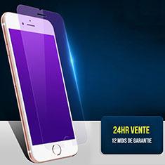 Film Protecteur d'Ecran Verre Trempe Anti-Lumiere Bleue B01 pour Apple iPhone 7 Bleu