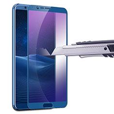 Film Protecteur d'Ecran Verre Trempe Anti-Lumiere Bleue B01 pour Huawei Honor V10 Bleu