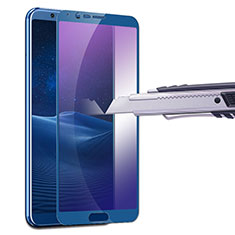 Film Protecteur d'Ecran Verre Trempe Anti-Lumiere Bleue B01 pour Huawei Honor View 10 Bleu