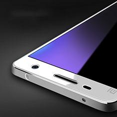 Film Protecteur d'Ecran Verre Trempe Anti-Lumiere Bleue B01 pour Xiaomi Mi 4 LTE Bleu