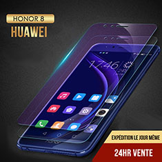 Film Protecteur d'Ecran Verre Trempe Anti-Lumiere Bleue B02 pour Huawei Honor 8 Clair