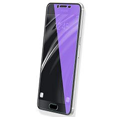 Film Protecteur d'Ecran Verre Trempe Anti-Lumiere Bleue B02 pour Samsung Galaxy C7 SM-C7000 Bleu