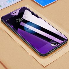 Film Protecteur d'Ecran Verre Trempe Anti-Lumiere Bleue B03 pour Apple iPhone 6 Plus Bleu