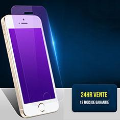 Film Protecteur d'Ecran Verre Trempe Anti-Lumiere Bleue L01 pour Apple iPhone 5S Clair