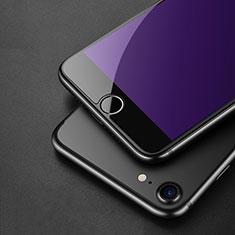 Film Protecteur d'Ecran Verre Trempe Anti-Lumiere Bleue pour Apple iPhone SE (2020) Bleu