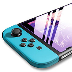 Film Protecteur d'Ecran Verre Trempe Anti-Lumiere Bleue pour Nintendo Switch Clair