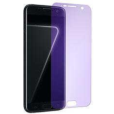 Film Protecteur d'Ecran Verre Trempe Anti-Lumiere Bleue pour Samsung Galaxy S7 G930F G930FD Clair