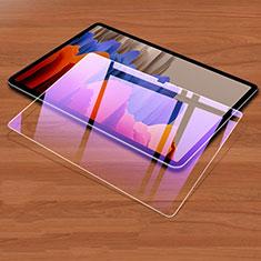 Film Protecteur d'Ecran Verre Trempe Anti-Lumiere Bleue pour Samsung Galaxy Tab S7 Plus 12.4 Wi-Fi SM-T970 Clair