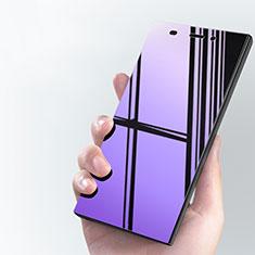 Film Protecteur d'Ecran Verre Trempe Anti-Lumiere Bleue pour Xiaomi Mi 3 Bleu