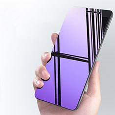 Film Protecteur d'Ecran Verre Trempe Anti-Lumiere Bleue pour Xiaomi Redmi Note 3 MediaTek Bleu