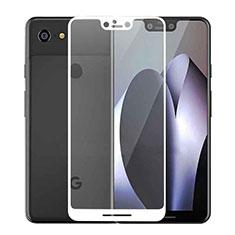 Film Protecteur d'Ecran Verre Trempe Integrale F02 pour Google Pixel 3 XL Blanc
