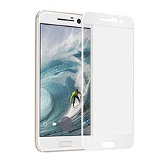 Film Protecteur d'Ecran Verre Trempe Integrale F02 pour HTC 10 One M10 Blanc