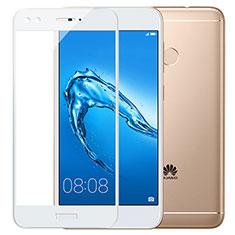 Film Protecteur d'Ecran Verre Trempe Integrale F02 pour Huawei Enjoy 7 Plus Blanc