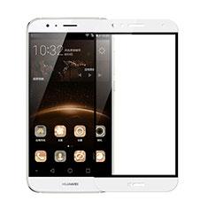 Film Protecteur d'Ecran Verre Trempe Integrale F02 pour Huawei G7 Plus Blanc