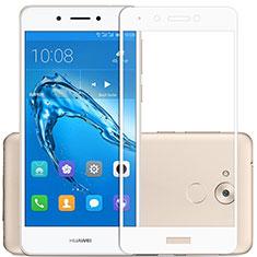 Film Protecteur d'Ecran Verre Trempe Integrale F02 pour Huawei Honor 6C Blanc