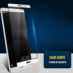 Film Protecteur d'Ecran Verre Trempe Integrale F02 pour Huawei Mate 8 Blanc