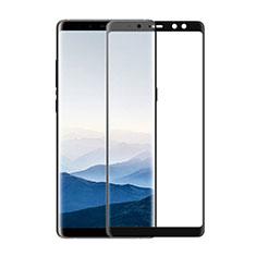 Film Protecteur d'Ecran Verre Trempe Integrale F02 pour Samsung Galaxy A8 (2018) Duos A530F Noir