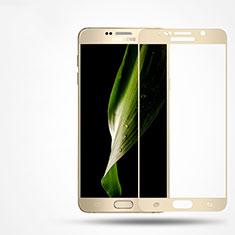 Film Protecteur d'Ecran Verre Trempe Integrale F02 pour Samsung Galaxy Note 5 N9200 N920 N920F Or