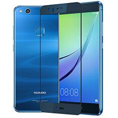 Film Protecteur d'Ecran Verre Trempe Integrale F03 pour Huawei P10 Lite Bleu