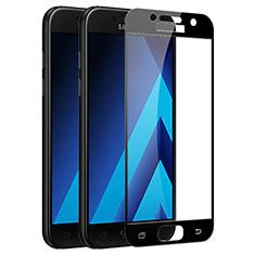 Film Protecteur d'Ecran Verre Trempe Integrale F03 pour Samsung Galaxy A5 (2017) Duos Noir