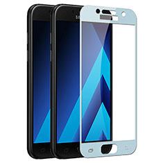 Film Protecteur d'Ecran Verre Trempe Integrale F03 pour Samsung Galaxy A7 (2017) A720F Bleu