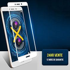 Film Protecteur d'Ecran Verre Trempe Integrale F04 pour Huawei Honor 6X Blanc